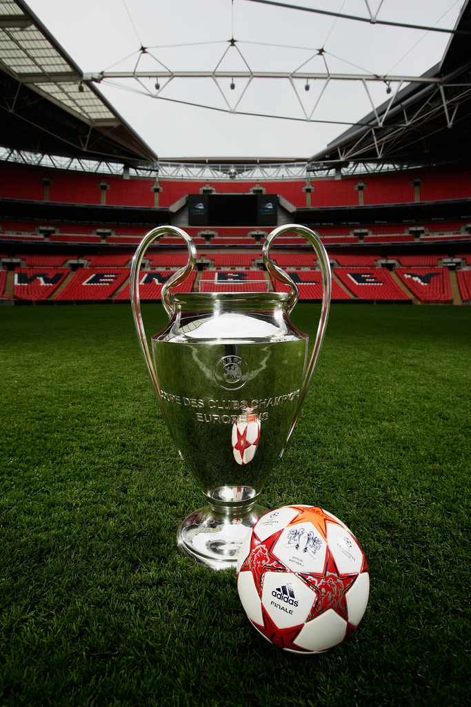 UEFA Champions League Final Ball Launch