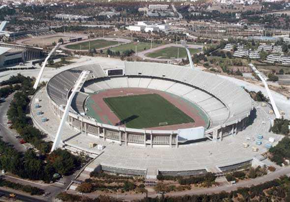 maratn en los juegos olmpicos modernos spyros louis fue inaugurado en en sus origenes era un estadio con pista de atletismo bastante insulso