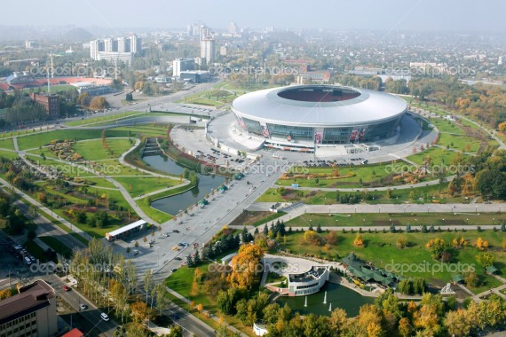 Donbass Arena stadium.