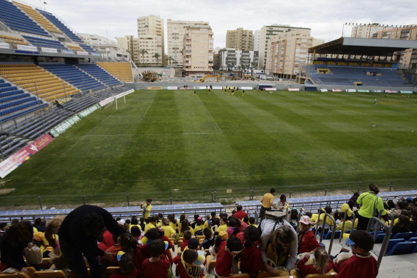 El Ramón de Carranza, otro de los estadios reconstruido por fases.