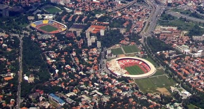 Stadiums - Belgrade