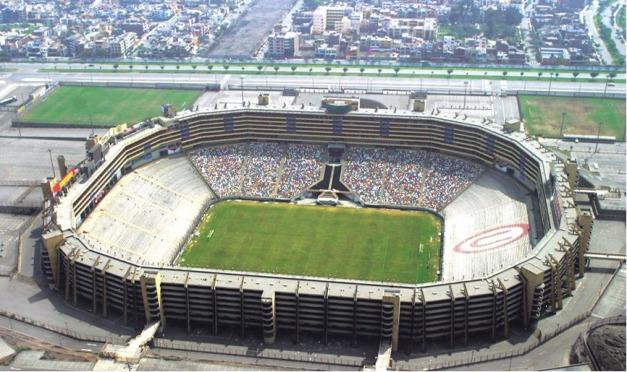 Estadio monumental lima templos del f tbol for Puerta 9 del estadio nacional de lima