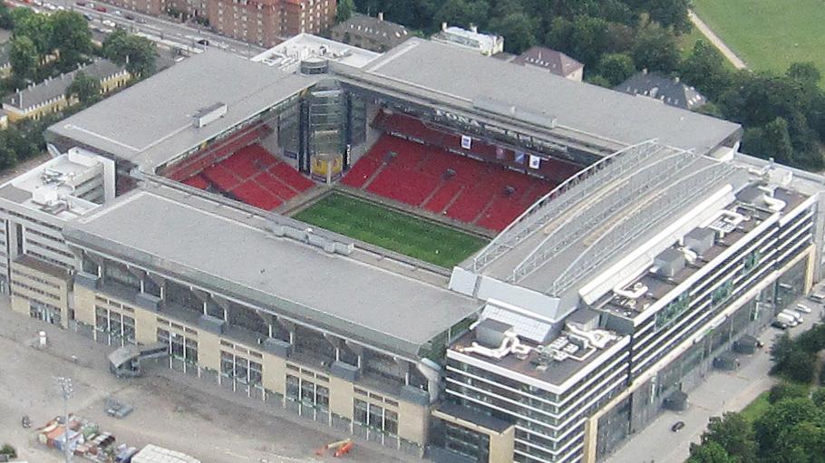 Parken Stadion  U2013 Copenhague  U2013 Templos Del F U00fatbol